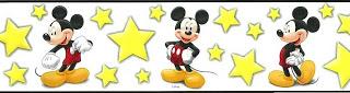 Mickey Mouse Wallpaper Border