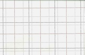 Vintage Window Pane Plaid Wallpaper in Gray, Off White, & Crimson