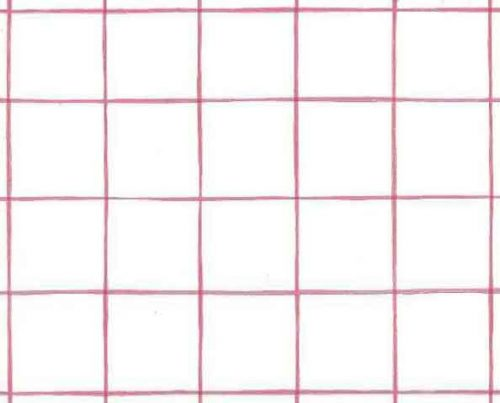 Windowpane Vintage Wallpaper Pattern in Pink & White