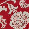 Red tones Damask Vintage Wallpaper