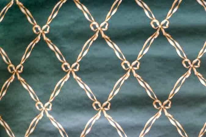 Harlequin Ribbon Vintage Wallpaper Pattern