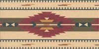 Southwestern Vintage Wallpaper and Border Patterns