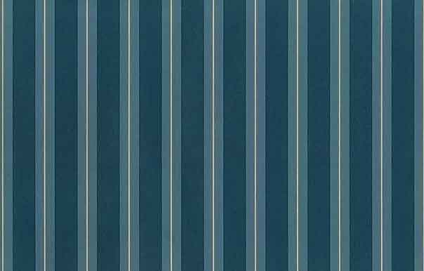 Teal Striped Vintage Wallpaper Blue Green Cream Classic TIM5234