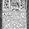 1690 Trade Card for Wallpaper history