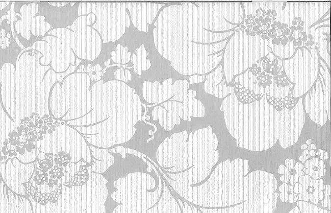 Vintage Cream Floral Damask Wallpaper Pattern