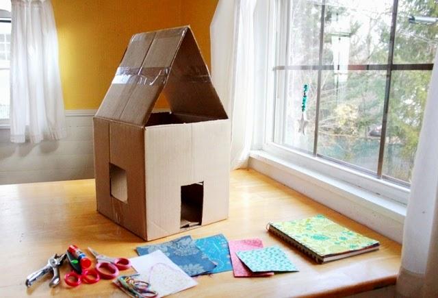 wallpaper crafts dollhouse